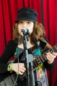 singing rehearsing